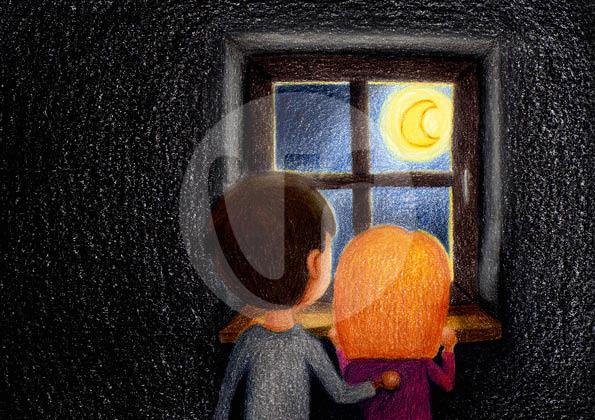 """Illustrationen (S.32) für mein Kinderbuch """"Besuch in der Weihnachtswerkstatt"""""""