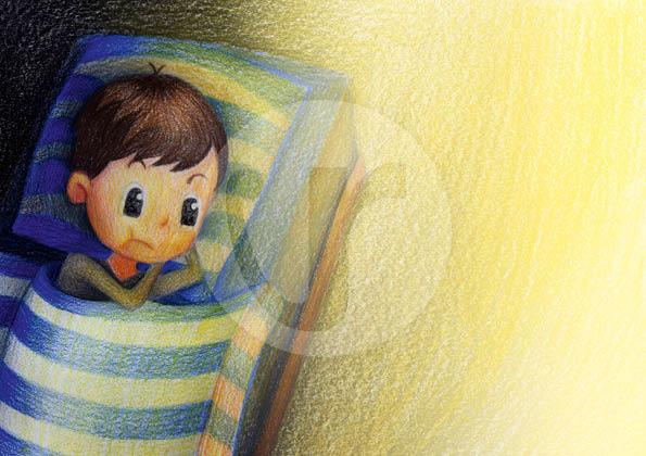 """Illustrationen (S.5) für mein Kinderbuch """"Besuch in der Weihnachtswerkstatt"""""""