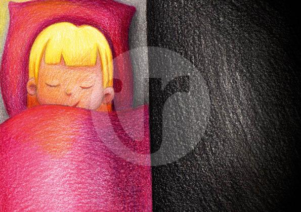 """Illustrationen (S.7) für mein Kinderbuch """"Besuch in der Weihnachtswerkstatt"""""""