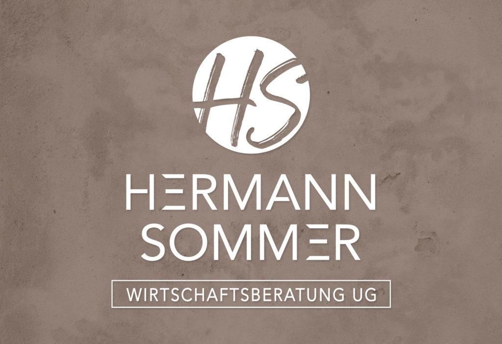 Logo- und Corporate-Design: HERMANN SOMMER Wirtschaftsberatung UG