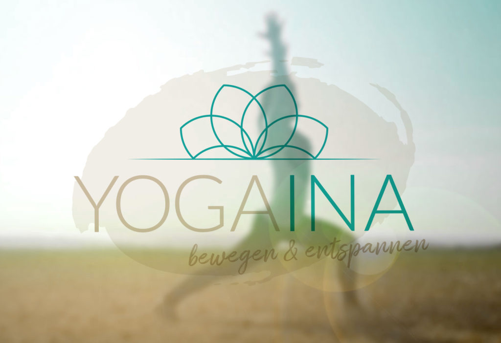 Logodesign: YOGAINA - Yogatrainerin - Karina Samtleben
