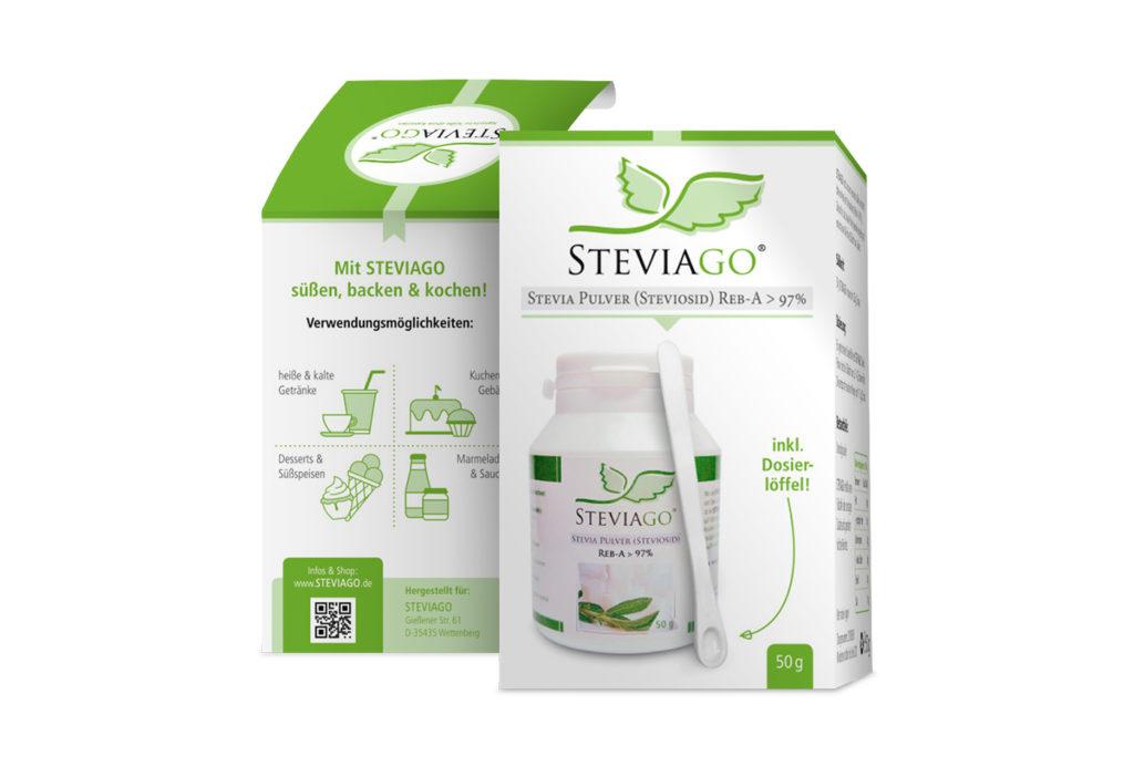 Steviago Verpackung