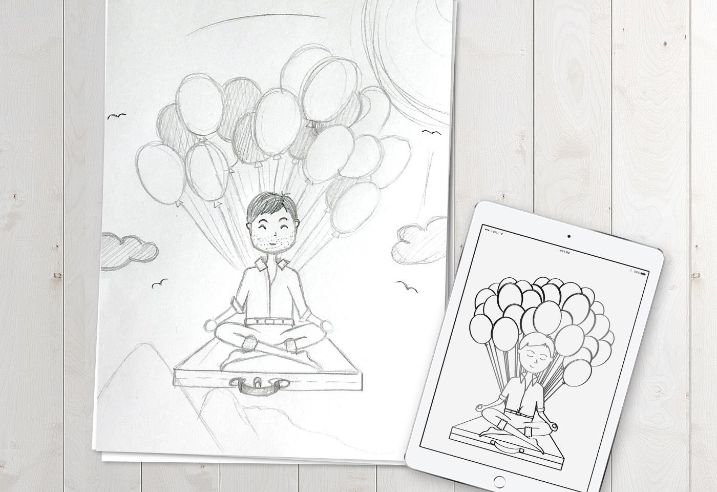 """Illustrationen: """"Das muss doch auch anders gehen"""" von Bettina Ramm"""