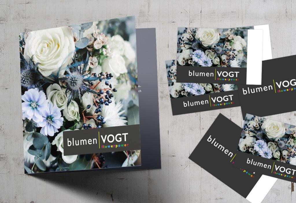BlumenVOGT – Geschäftsausstattung