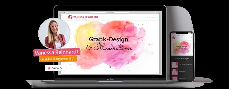 Titelbild VANESSA REINHARDT - Grafik-Design B.A. Gießen